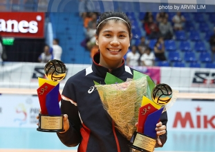 PVL Open Conference women's awarding ceremony